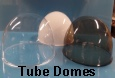 Round tube domes