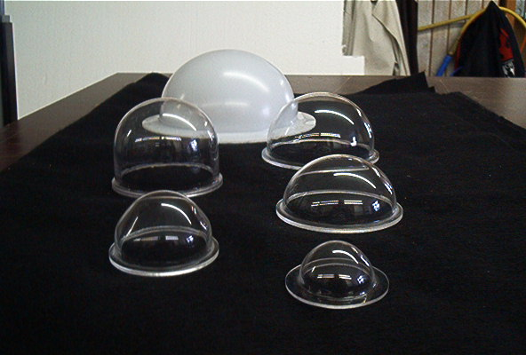 Small Acrylic Domes