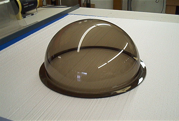 Clear Acrylic Plastic Display Domes